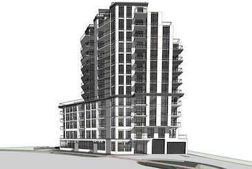 The Lexington Condos 2 by Royale Grand Woodbine Developments