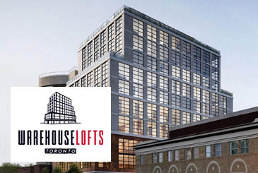 Warehouse Lofts Toronto by THE SHER CORP & DOWNING STREET