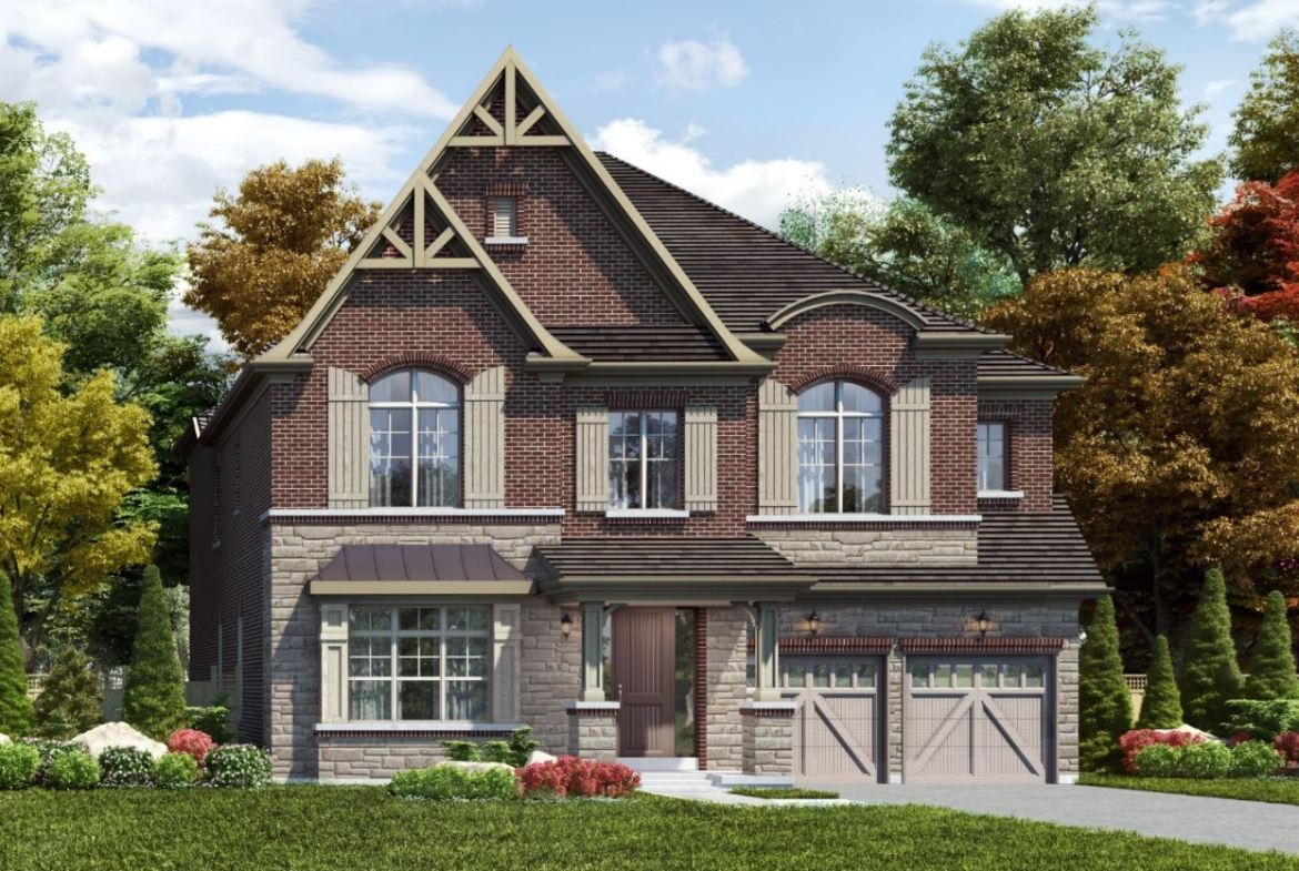 Rendering of Union Village detached home.