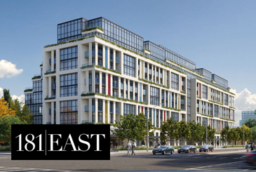 181 East Condos by Stafford Homes and Greybrook Realty Partners