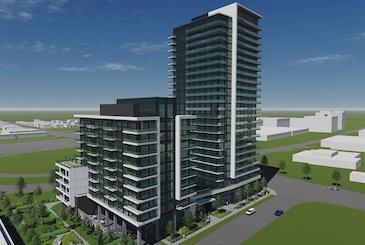 2699 Keele Condos by Worsley Urban Partners in Toronto