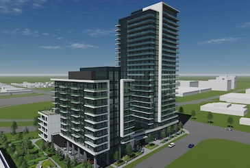 2699 Keele Condos by Worsley Urban Partners in Toronto