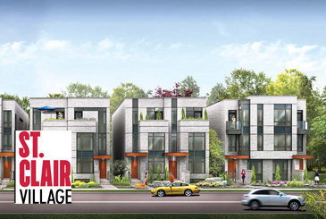 St. Clair Village Semi-Detached Homes by Frontdoor Developments