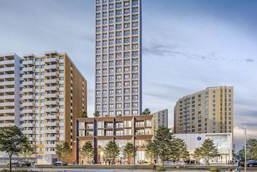1801 Eglinton Avenue West Condos by Kingsett Capital in York, Toronto