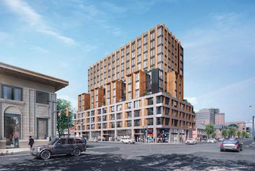 419 College Street Condos in Toronto by Ironwood Bay