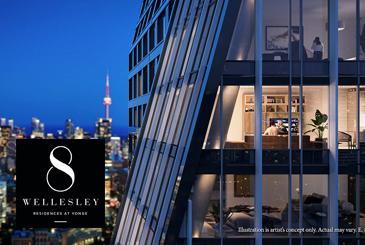 8 Wellesley Residences in Toronto