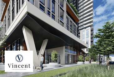 Vincent Condos by Rosehaven Homes and Townwood Homes in Vaughan