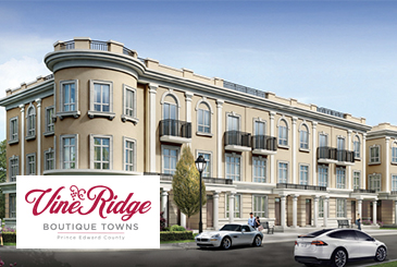 VineRidge Boutique Towns by FLC Investments in Picton, ON