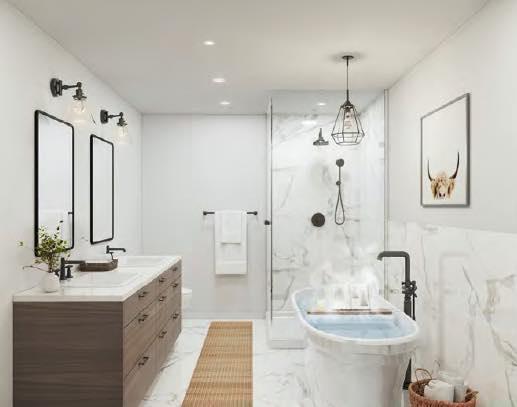 Greenhill Towns rendering interior bathroom