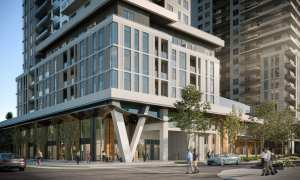 The Vincent Condos exterior streetview