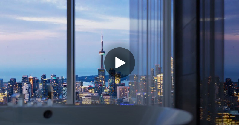 Play YouTube playlist of CondoInvestments Condo Tours and New Pre-Construction Developments