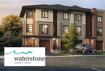 Waterstone Towns in Collingwood by DiCenzo Homes & Nexus Developments