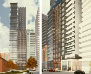 Rendering of 208 Bloor West Condos
