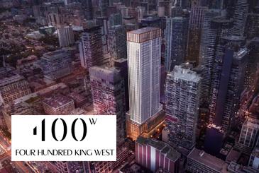 400 King West Condos in Toronto