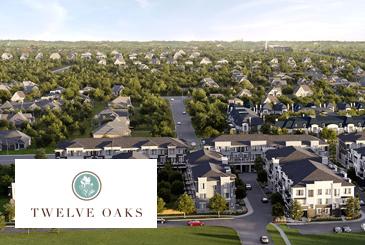 Twelve Oaks Towns in Richmond Hill by Green City Development