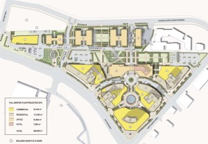1750 The Queensway site plan