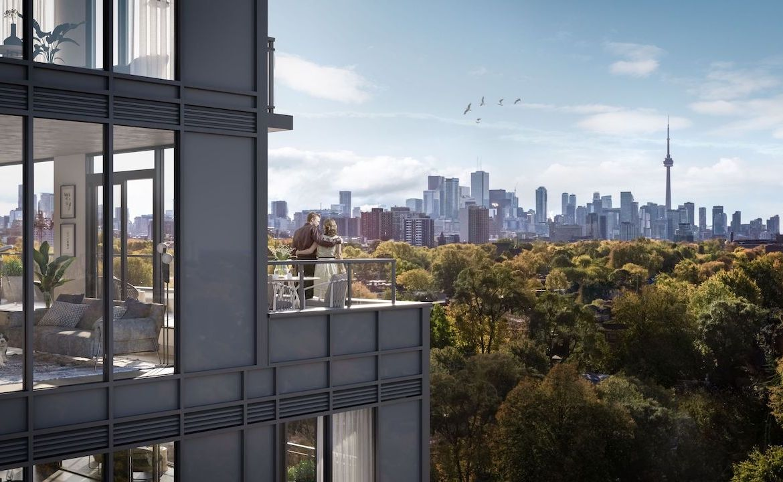 Views of Toronto from Oscar Residences