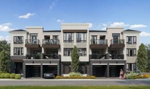 Twelve Oaks Towns exterior 2 with garages