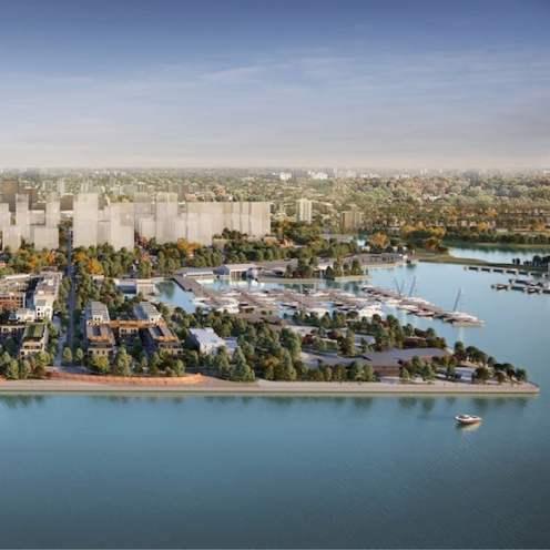 Hamilton's Future Waterfront Development Surrounding 1 Jarvis Street Condos