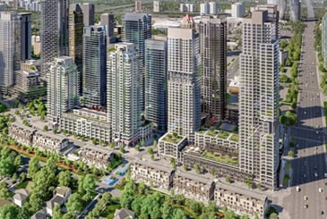 Block 1 West Condos in Mississauga by Amacon