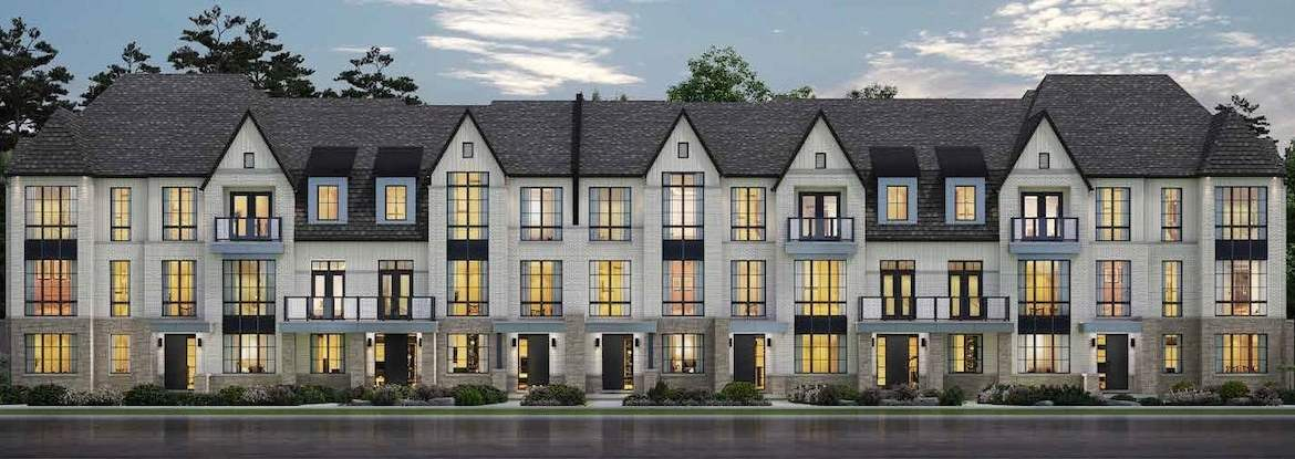 Rendering of Angus Glen South Village Towns exterior 1