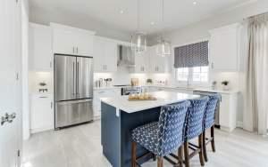 Rendering of Pathways Caledon East interior kitchen