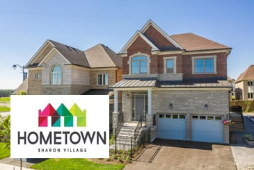 Hometown Sharon Village by Acorn Developments in East Gwillimbury