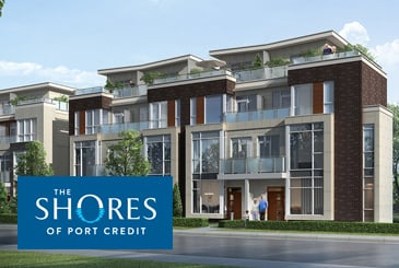 The Shores of Port Credit Towns by Verve Senior Living in Mississauga