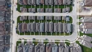 Aerial of Hometown Sharon Village