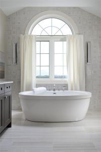 Interior view of Hometown Sharon Village master bath