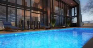 Rendering of 628 Saint-Jacques Condos swimming pool