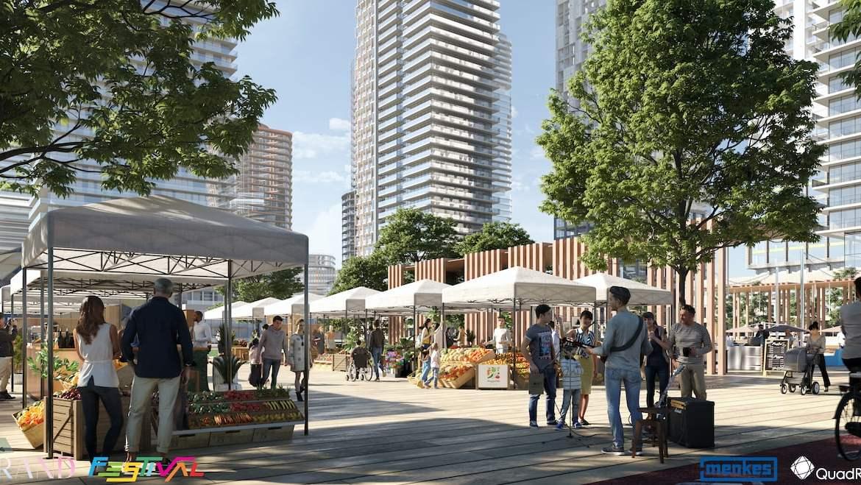 Grand Festival Condos farmers market cultural hub