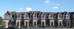 Rendering of Highbury Gardens townhomes