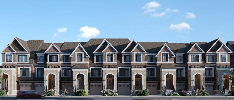 Rendering of Highbury Gardens townhomes