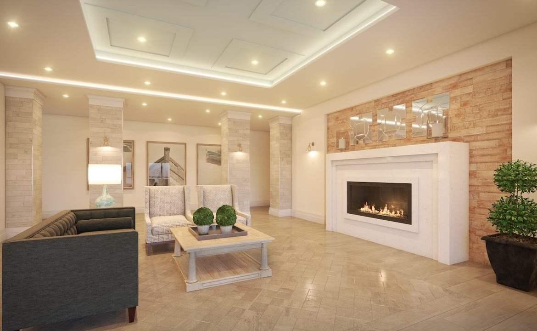 Stone and South Condos lobby
