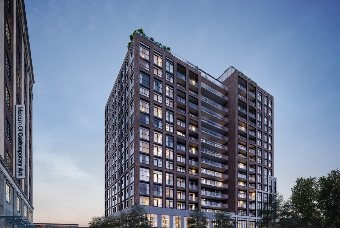 Rendering of House of Assembly Condos in Toronto