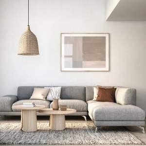 Rendering of North Oak Condos suite interior