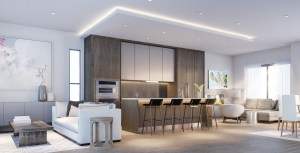 The Shores of Port Credit suite mainfloor