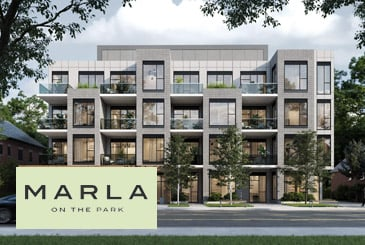 Marla On The Park Condos in Toronto by Kultura