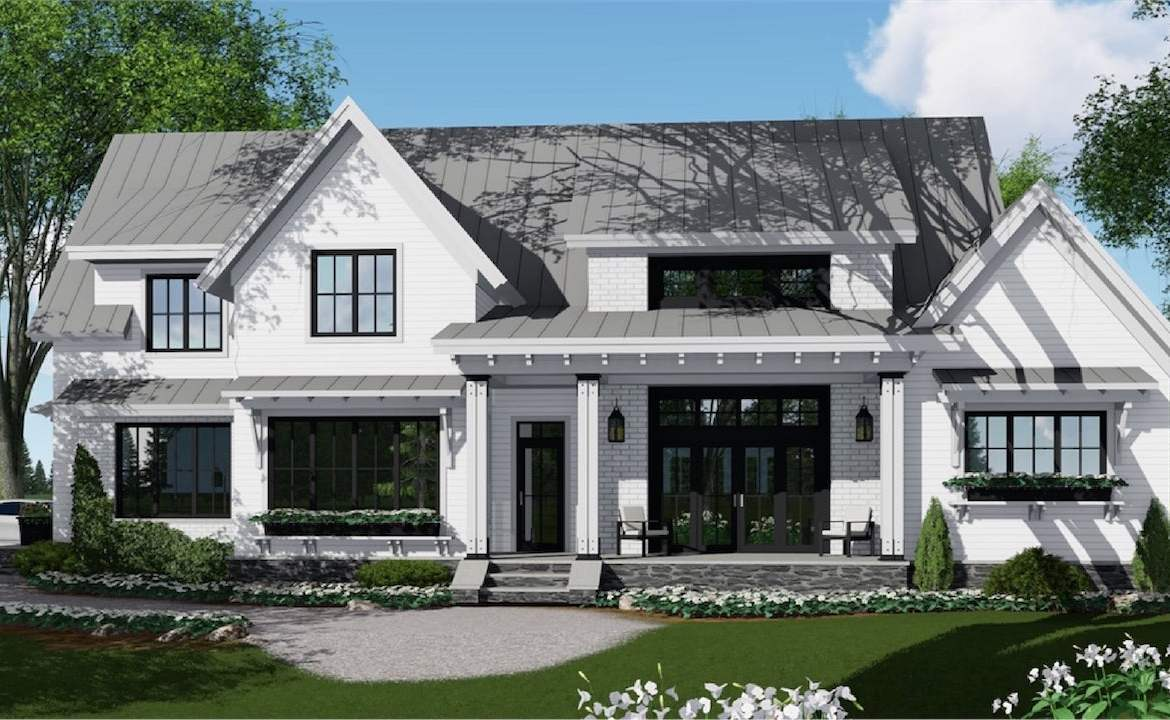 Rendering of single family home at Eagles' Rest Estates in Barrie