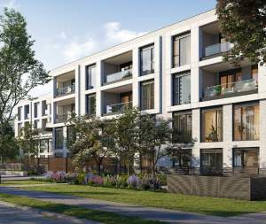 Exterior rendering of Residences on Keewatin Park Towns