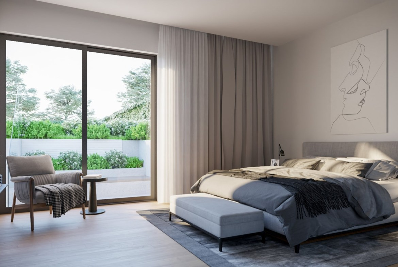 Residences on Keewatin Park suite bedroom