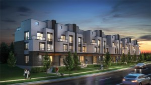 Rendering of SF3 Townhomes