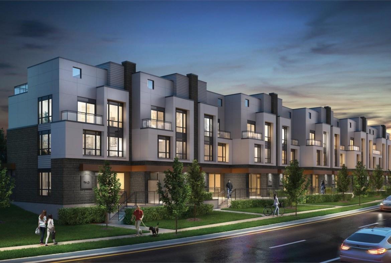 Rendering of SF3 Townhomes
