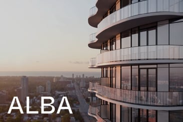 Alba Condos in Mississauga by Edenshaw