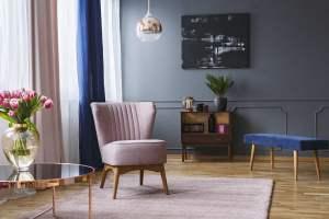 ClockWork Condos living room design