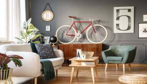 ClockWork Condos living room