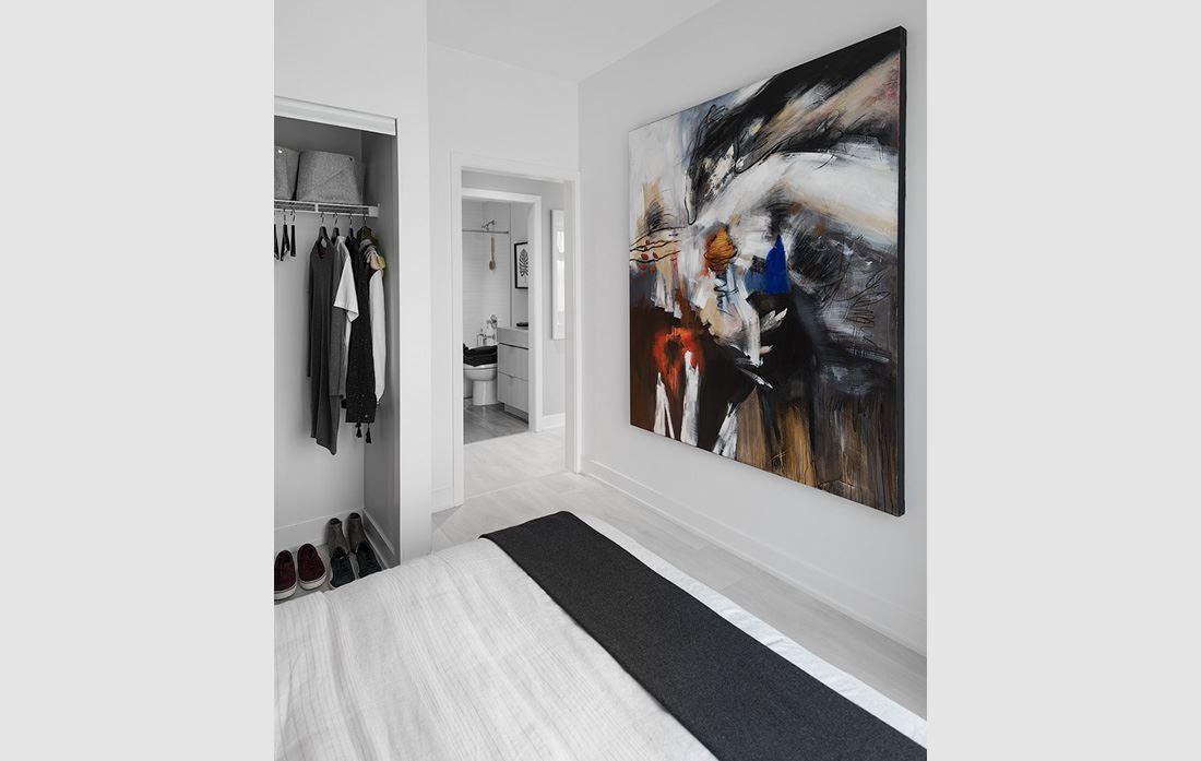 Hillmont at SXSW Model Suite bedroom