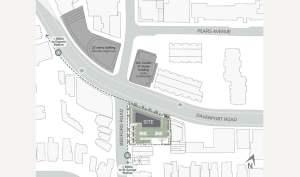 Site plan of 287 Davenport Condos in Toronto Ontario
