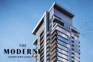 The Moderne Condos in Hamilton by Spallacci Homes and Valery Homes